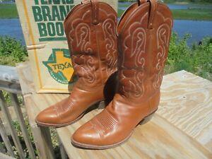 VINTAGE COWBOY BOOTS - EL DORADO USA NICE 12 EE