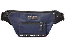 New Polo Ralph Lauren Sport Nylon Navy Blue Waist Fanny Pack Bag
