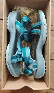Teva Terra Fi Lite Blue & Green Walking Sandals - Size 6 - With Box - Worn Once