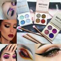 Makeup 4 Color Palette Beauty Shimmer Cosmetics Eyeshadow Matte Eye Shadow NEW^
