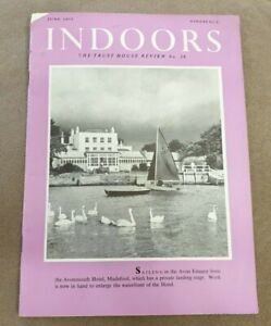 VINTAGE 1959 INDOORS THE TRUST HOUSE REVIEW BOOK MAGAZINE