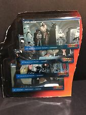 1994 Topps Widevision Rare Star Wars Exclusive Promo Set of 4 Cards K-01-K-04