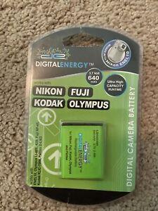 NEW Digital Energy 3.7V 640 mAh Battery NIKON FUJI OLYMPUS KODAK Ultra Capacity