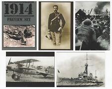 2014 Cult Stuff 1914 WWI War Illustrated 9 Card Preview Set + 18 Card Base Set