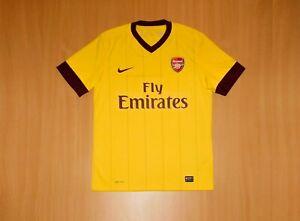 Arsenal LONDON 2010 2012 Away shirt jersey camiseta soccer football NIKE M