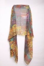 Colorful Hippy Inspired Cool Unqiue Statement Look Splatter Scarf Retro(S5)