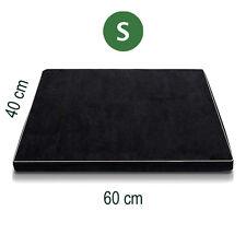 Small Orthopedic Memory Foam Dog Bed Pet Beds Mat Cat Pad Cushion Black