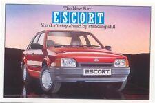 Ford Escort GL Original colour Postcard Pub. No. SP 1191 March 1986