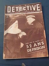 Détective 1948 102 DONNEZAC PLEUVILLE SAINT CHRISTOPHE DE DOUBLE ALGER