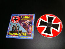 CGCD demo disc with Red Baron full game PC CD rare in sleeve