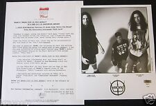 PRONG 'WHOSE FIST IS THIS ANYWAY?' 1992 PRESS KIT--PHOTO