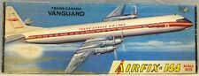 AVIATION : TRANS-CANADA VANGUARD 1/144 SCALE AIRFIX MODEL KIT