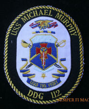 USS LT MURPHY DDG-112 PATCH US NAVY SEAL 1 MEDAL OF HONOR MOH OEF DESTROYER
