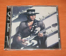 """Stevie Ray Vaughan CD """" AND BOUBLE TROUBLE TEXAS FLOOD """" Epic"""