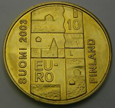 FINLAND 10 Euro 2003 LM - Silver - Anders Chydenius - 2927