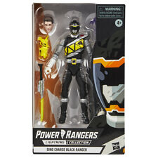 Power Rangers Lightning Collection - Dino Charge Black Ranger (Exclusive)