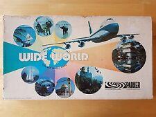 Wide World Board Game Vintage Parker Brothers 1970