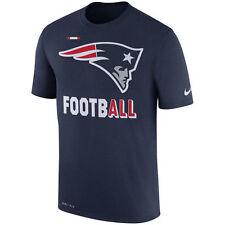 Men's New England Patriots NFL Sideline Legend Football Performance Shirt Small