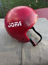 Vintage Jofa Winter Sports Helmet Mens Size S Ski Snowboarding Telemarking Red