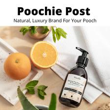 Poochie Post Natural Pet Dog Fur Detangler & Conditioner Aloe Vera