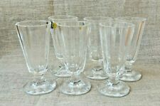 Set 6 Faceted Crystal Shot Glass Lafitnik Russian Ryumka  40 ml / 1.35 oz