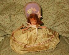 Vtg 40s Bisque Nancy Ann Storybook Doll #410 Mary Lou All Time Hit Parade Tag