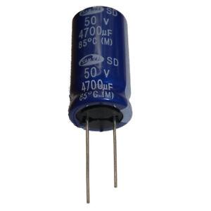 4700uF 50V 85'C Radial Electrolytic Capacitor, SAMWHA