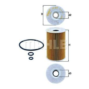MAHLE Engine Oil Filter OX 388D FOR Caddy Transporter A3 Amarok A4 Golf A5 Passa
