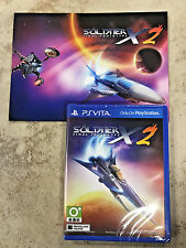 **FASTFREE SHIP** NEW Soldner X2 Final Prototype - WITH POST CARD -  PS Vita -