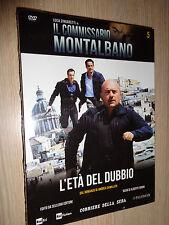 DVD N° 5 COMMISSARIO MONTALBANO LUCA ZINGARETTI CAMILLERI L´ETA´ DEL DUBBIO