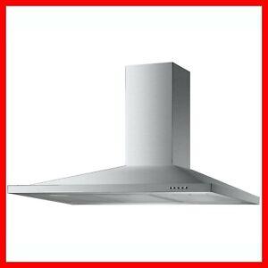 100cm Cooker Hood Kitchen Chimney Range Kitchen Extractor Fan Stainless Steel