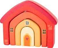 small foot Wooden Building Blocks House 10648 Childrens Stacking game Toy