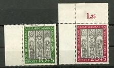 BUND 1951 139-140 MARIENKIRCHE RAND/ECKRAND(N6487