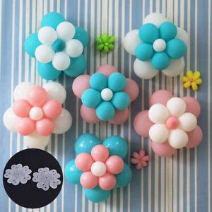 Balloon Plum Blossom Clip Holder Latex Sheet Flower Shape Clips Balloon Stand√