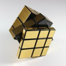 Rubix Rubics Mirror Cube Puzzle 3x3 Speed Game Brain Toy Gift for Kids Adults