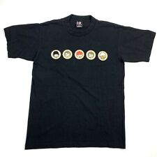 Vintage 90s Limp Bizkit Member Cartoon Duval County Black T-Shirt Mens L Rare