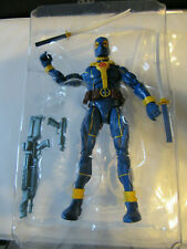 Marvel Legends BLUE DEADPOOL Loose Figure IN HAND X-Force STRONG GUY Complete
