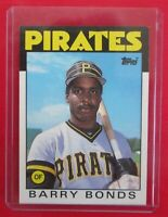 1986 Topps Traded BARRY BONDS #11T Pirates Rookie RC Card NM MT