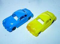 2 Karmann Germany Plastik Spielzeug Modellauto unverglast VW Ghia 6 cm Manurba
