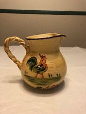 """Home Ceramic Chicken Pitcher 8"""" Tall 9.5"""" Wide (Handle To Spout)"""