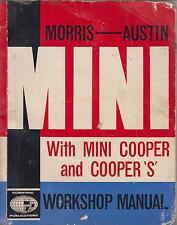 MINI MK1 SALOON ( INCL COOPER & S )  1961 - 1964 OWNERS WORKSHOP MANUAL