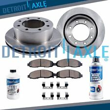 Front Brake Rotors and Ceramic Pads 2005 2006 2007 2008 2009 Ford F250 F350 4WD