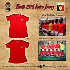 New Haiti 1974 Retro Soccer Jersey Rare - Size (S,M,L,XL)