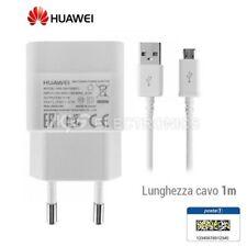 CHARGEUR BLANC ORIGINAL HUAWEI HW-050100E01 1 AMPÈRE CÂBLE MICRO USB