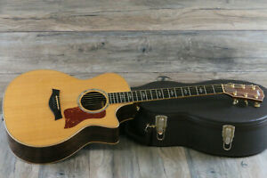 2010 Taylor 814CE Acoustic/Electric Cutaway Guitar + OHSC