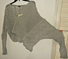 NWT Lilith France ~ Art to Wear  Opale Gigantesque Quirky Sweater 'Pull'~ M L XL