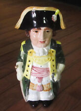 Ceramic Lid Lidded Beer Stein Toby Colonial France French Napoleon Men