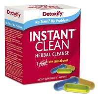 Instant Clean Herbal Cleanse Capsules by Detoxify - SAME DAY SHIPPING