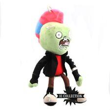 PIANTE CONTRO ZOMBI PUNK PELUCHE plants vs. zombie 2 pvz doll Neon Discomix Tour
