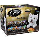 Cesar Home Delights Wet Dog Food, 8 Flavor Variety Pack in Sauces 3.5 oz.40 ct.